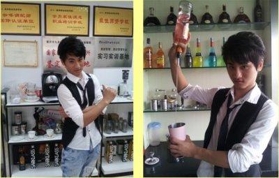 英邦教育.花式调酒冠军讲师:张松