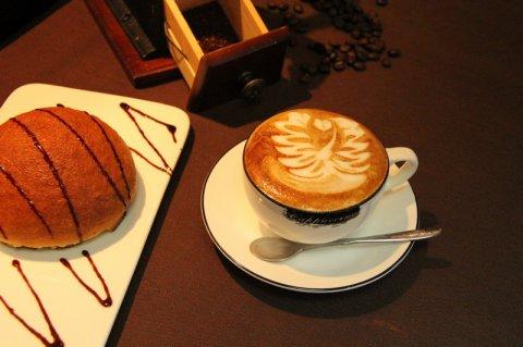 意式咖啡拉花2